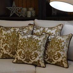 Luxury silk velvet handmade by TH homedecor