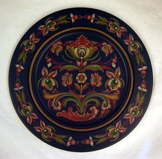 Rosemaling. Norwegian Decorative Painting. Norway's Folk Art. Norwegian Heritage Society