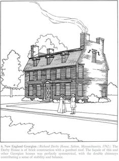 Ink Of Barns Sketch Templateson Hereford Map