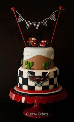 Vroom! Disney Pixar Cars Cake | Flickr - Photo Sharing!
