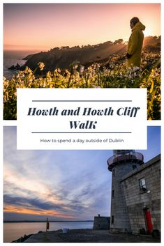 Howth and Howth Cliff Walk: the perfect day trip from Dublin. Check out this guide, the Howth Cliff Walk map and plan your day trip from Dublin.#ireland #dublin #travel #traveltips #hiking