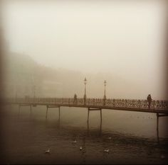 Lucerne in the mist