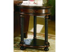 Hooker Furniture Living Room Westcott Round Accent Table 989-50-104