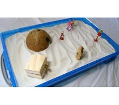 Large Sand Tray with Lid for sand tray therapy. A Play Therapy Supply Exclusive. $49.99