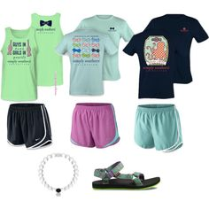 outfit possibilities with mint green teva sandals and a lokai! by morganayscue on polyvore