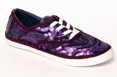Starlight Sequin Canvas Sneakers