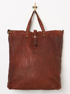 Campomaggi Imperiale Leather Tote at Free People Clothing Boutique