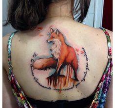 Spiritus tattoo fox design