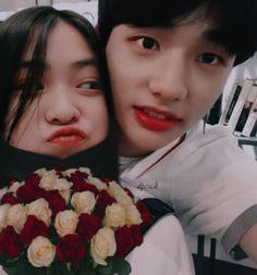 Hwangshin (hyunjin x ryujin) Bad Girl Aesthetic, Kpop Aesthetic, Kpop Couples, Cute Couples, Boy And Girl Friendship, Ulzzang Korea, Bts Memes Hilarious, Korean Couple, Ulzzang Couple