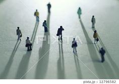 都会の人々