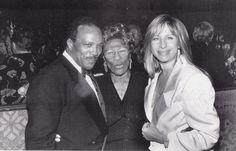 Streisand with Ella Fitzgerald & Quincy Jones