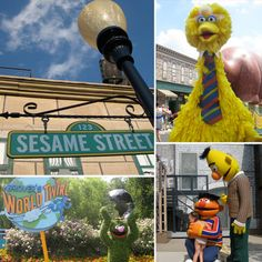 Sesame Place, PA. Have to do this someday!