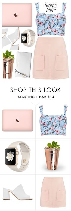 """Happy Hour"" by karla-jhoana ❤ liked on Polyvore featuring Maryam Nassir Zadeh, See by Chloé and Michael Kors"