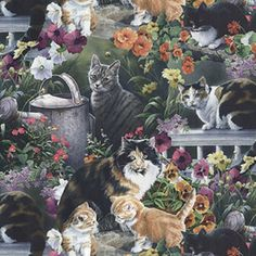 Cat Fabric Found on Bing