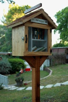H. Jaymi Elsass. Austin, TX. We have installed a little free library in front of our home.. Feel free to borrow a book or donate a book you'd like to share with others. We hope this brings a smile to your face as you walk around our sweet little neighborhood. We look forward to sharing our love of reading with you!