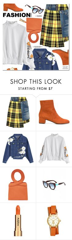 """Fashion Trend"" by oshint ❤ liked on Polyvore featuring Junya Watanabe, L'Autre Chose, Sisley and Tory Burch"