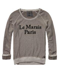 Paris sweat top