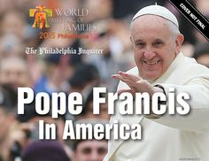 Pope Francis in America: The Official Photographic Record hardcover book with @phillyinquirer.