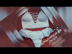 Top Cropped de crochê passo a passo   Avelã - JNY Crochê - YouTube Diy Crochet Top, Diy Crochet Flowers, Diy Crochet Bikini, Crochet Monokini, Crochet Bikini Bottoms, Crochet Bra, Crochet Doily Diagram, Crochet Bikini Pattern, Crochet Halter Tops