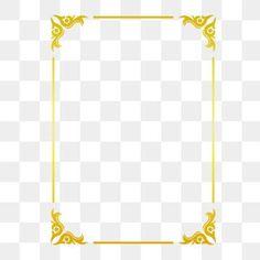 Golden border warm color border frame picture frame gold PNG and Vector Frame Floral, Flower Frame, Border Pattern, Gold Pattern, Color Bordo, Frame Border Design, Vector Border, Design Set, Image Clipart