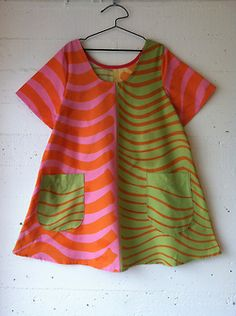 dress 46 materials: cotton print pattern: own