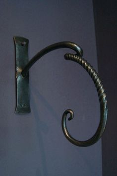 forged metal hook