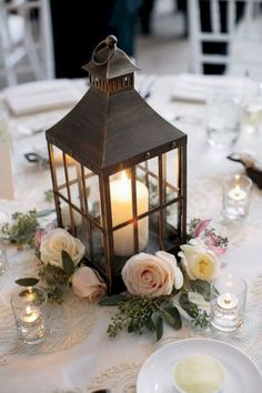 85 DIY Creative Rustic Chic Wedding Centerpieces Ideas #rusticchicweddings