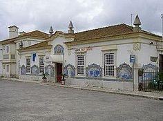 Gilberto Renda | Estação Ferroviária de / Railway Station of Santiago do Cacém | 1934-1935 #Azulejo #GilbertoRenda