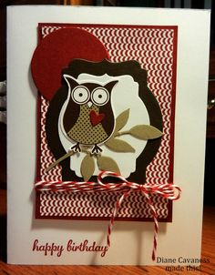 Stampin' Up Owl Builder Punch