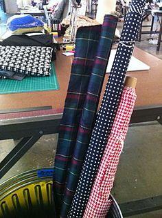 Some of my fabrics #FashionStar