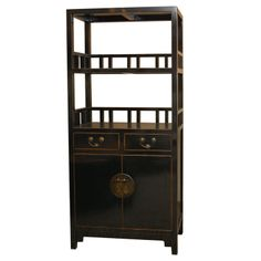 Chinese Bookcase | From a unique collection of antique and modern bookcases at http://www.1stdibs.com/furniture/storage-case-pieces/bookcases/