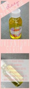 Overnight Sleep Serum DIY