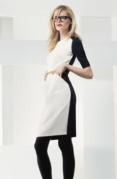 Suzi Chin for Maggy Boutique Belted Colorblock Sheath Dress #Nordstrom #AugustCatalog