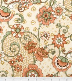 this fabric is so pretty. I just adore the colors in it
