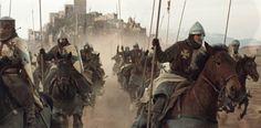 Si han visto la película El reino de los cielos de Ridley Scott seguramente recordarán la escena en que Saladino intenta asaltar el Crac de los Moabitas.  El castillo cruzado, también conocido como el Kerak, era junto con el Crac de los Caballeros, una de las mayores fortalezas cristianas en Tierr