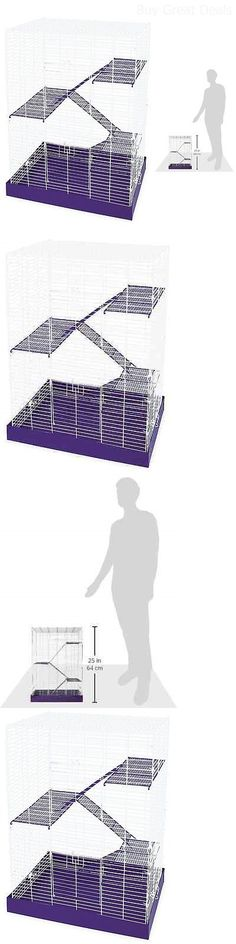 Cages and Enclosure 63108: Hamster Cage Gerbil Guinea Pig Rat Mice Chinchilla Mouse Rodent Small Animal Pet BUY IT NOW ONLY: $59.52