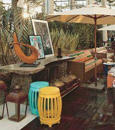 CASA COR SP 2012 - Lounge Externo - Catia Ferreira - www.montacasa.com.br