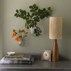 Wall Bubble Vase  Dress up the wall with fresh cut flowers in these lightweight, bubble shaped vases. If flowers aren't your thing fill them with practically anything from feathers to trinkets collected on hikes, the possibilities are endless.