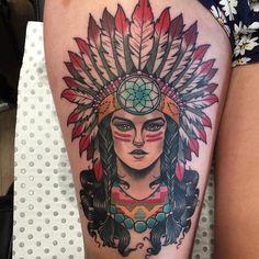 Risultati immagini per indian girl traditional tattoo