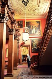 The Grand staircase at the National Trust's Lyme Park