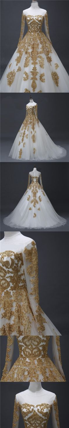 Chic Prom Dresses Scoop Long Sleeve Sweep/Brush Train Prom Dress/Evening Dress JKL176
