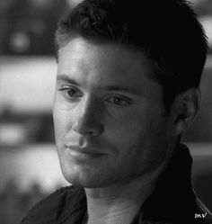 [gif] dean just has this heartbreaking face he makes when someone says something that hits home emotionally but he doesn't want to admit it...