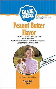 Kent Nutrition Blue Seal Peanut Butter Flavor Small Dog Biscuit 4 Lbs. >>> New and awesome dog product awaits you, Read it now  : Dog treats