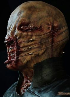 From Hellraiser. I would like to own a mask like that :D
