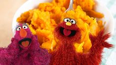Eat your colors! Mix up a bowl of this nutrition-packed, tasty Monster Mash and serve to your little monsters.