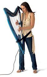 woah! an electric harp! I want I want | reallly random | Harp