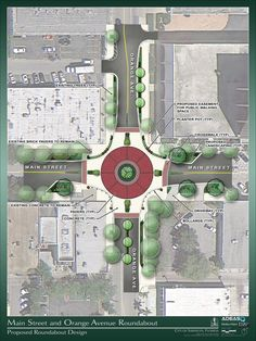 TRAFFIC: Orange/Main intersection is temporarily CLOSED. Construction to begin on a roundabout.