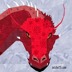 Fandom In Stitches: Dragons Dragons Dragons - Eragon by Michelle Thompson.