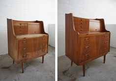 Refreshing vintage wood pieces w/o stain