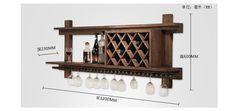 Американских ретро дерево вина шкафы продемонстрировать современный винный шкаф висит стене висит винные шкафы события купить на AliExpress